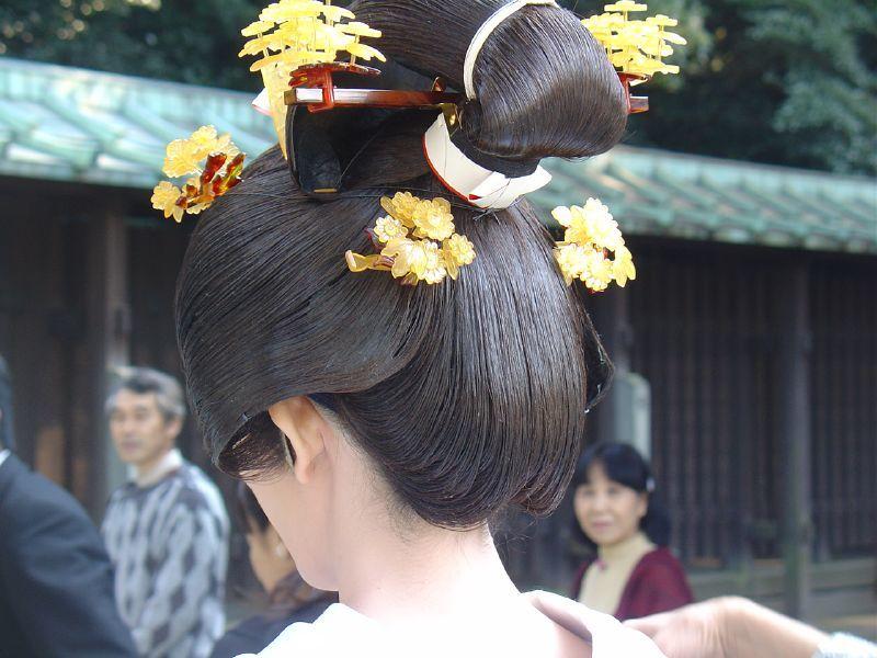 Traditional Japanese Wedding.Japanese Traditional Wedding